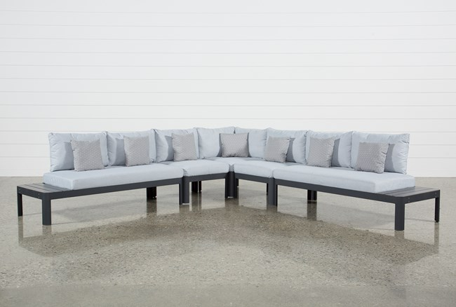 Outdoor Andaz 5 Piece Sectional - 360