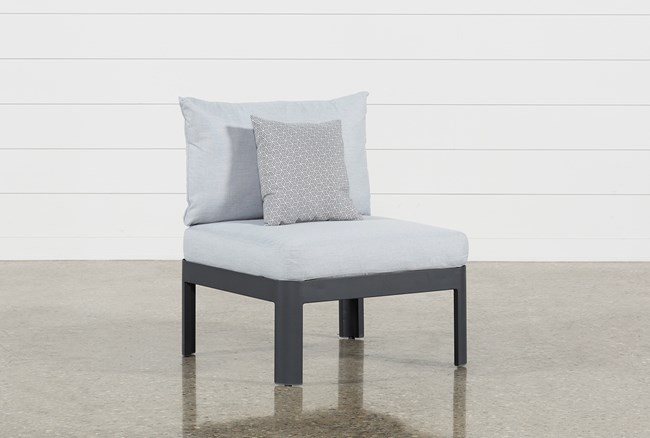 Outdoor Andaz Armless Chair - 360