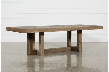 palazzo rectangle dining table living spaces