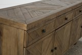 Palazzo 87 Inch Sideboard - Top
