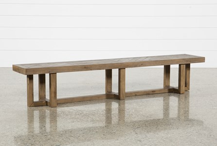 Palazzo 98 Inch Bench