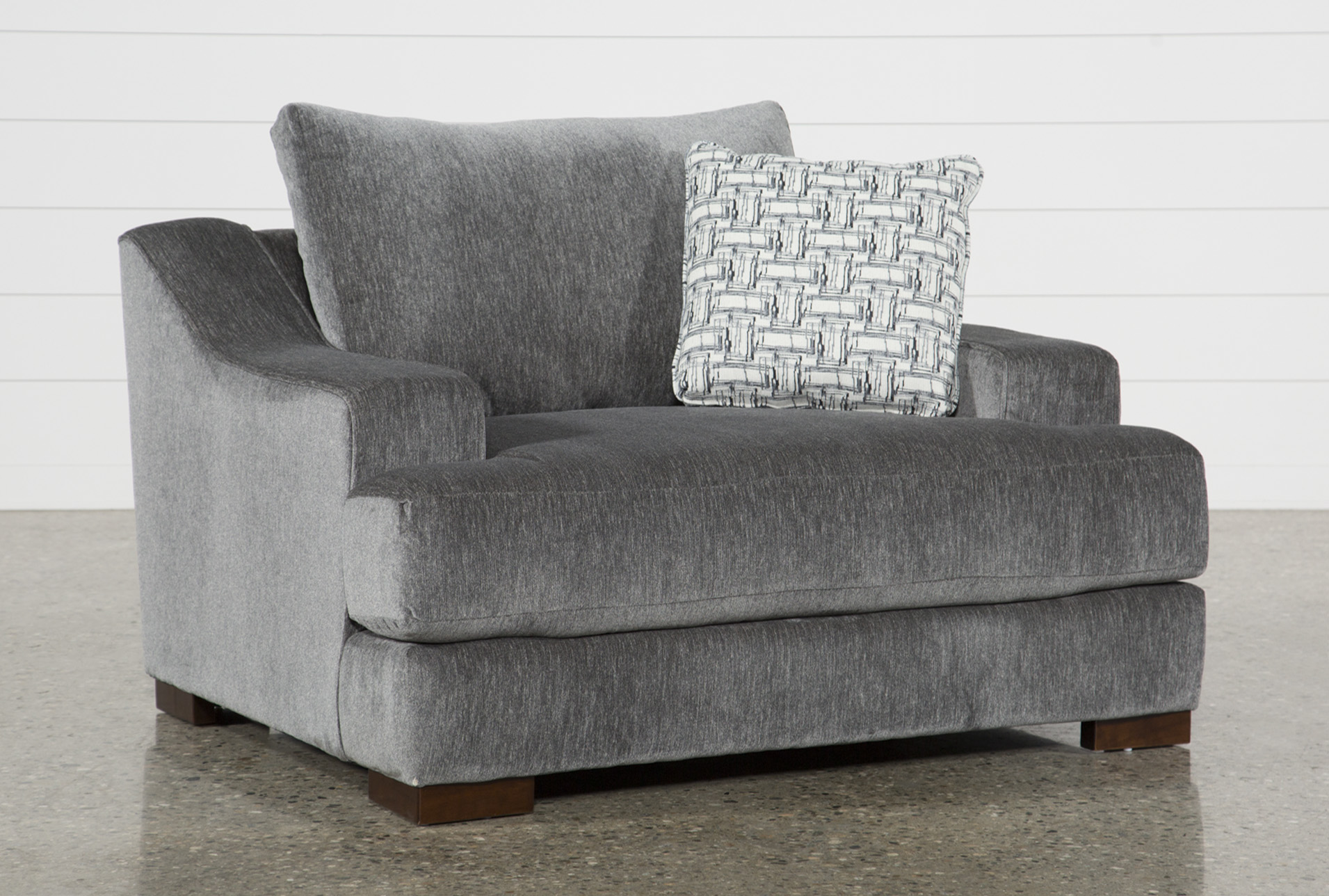 Maddox Oversized Chair & Maddox Queen Sleeper | Living Spaces