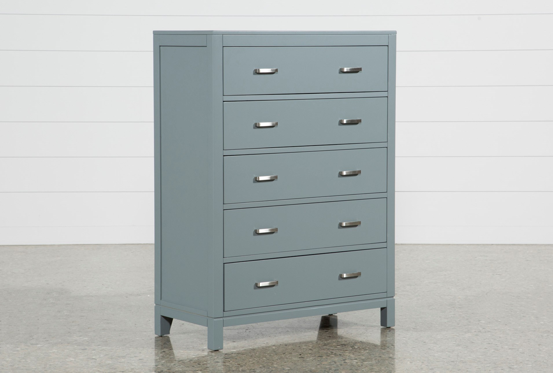 Hayden Grey Chest Of Drawers | Living Spaces
