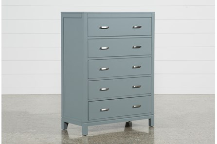 Hayden Grey Chest Of Drawers - Main