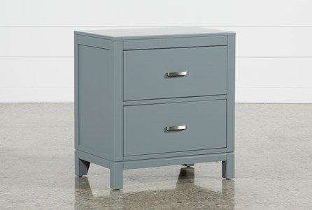 Hayden Grey Nightstand