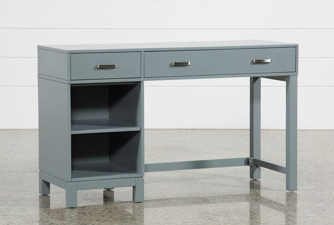 Hayden Grey Student Desk - 360