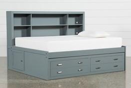 Hayden Grey Full Roomsaver Bed