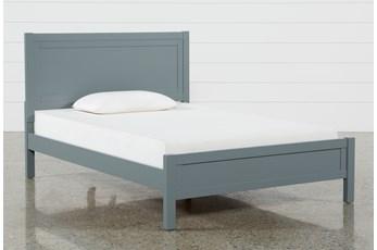 Hayden Grey Full Panel Bed
