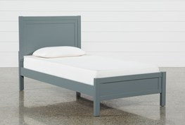 Hayden Grey Twin Panel Bed