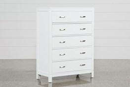Hayden White Chest Of Drawers