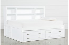 Hayden White Full Roomsaver Bed
