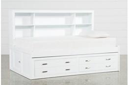Hayden White Twin Roomsaver Bed