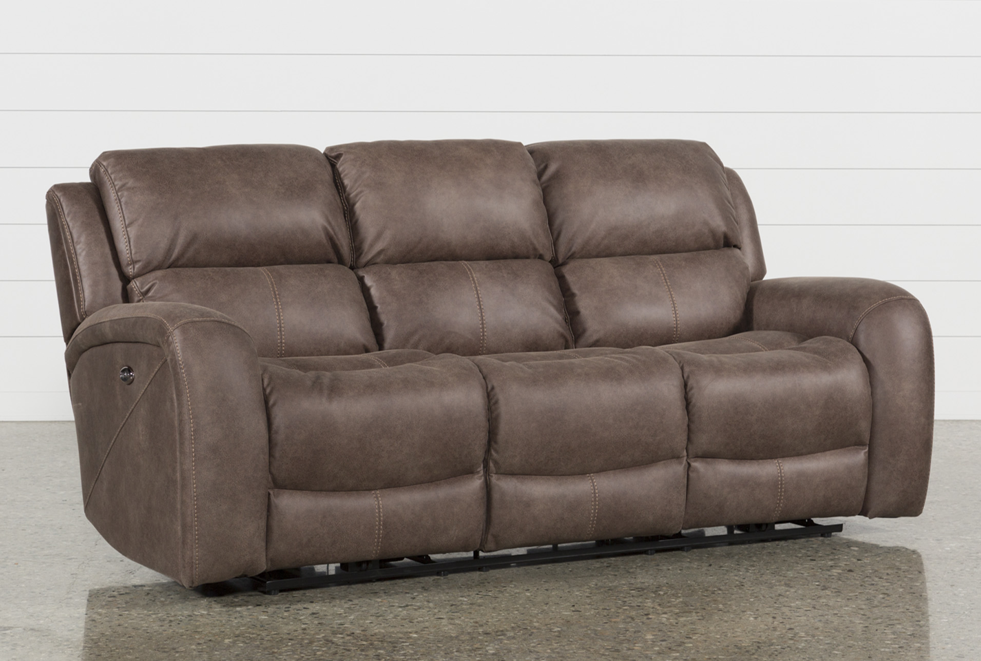Deegan Bark Power Reclining Sofa (Qty: 1) Has Been Successfully Added To  Your Cart.