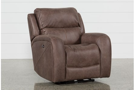 Deegan Bark Power Recliner - Main