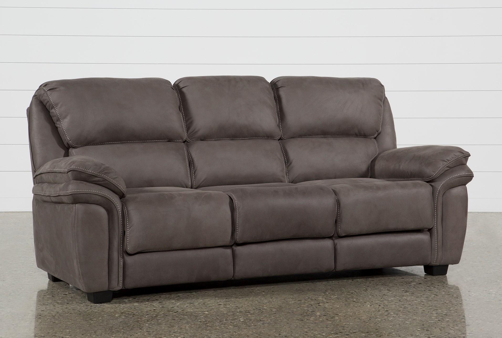 Norfolk Grey Queen Sofa Sleeper Living Spaces