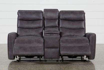 Astonishing Malia Power Reclining Console Loveseat With Usb Creativecarmelina Interior Chair Design Creativecarmelinacom