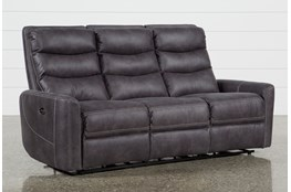 "Malia 80"" Power Reclining Sofa With Usb"