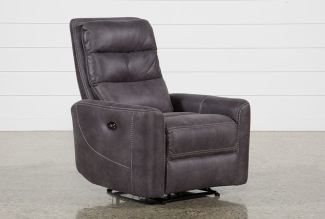 Malia Power Recliner With Usb - 360