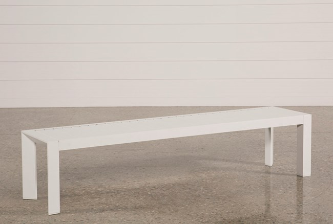 Outdoor Biscayne II Dining Bench - 360