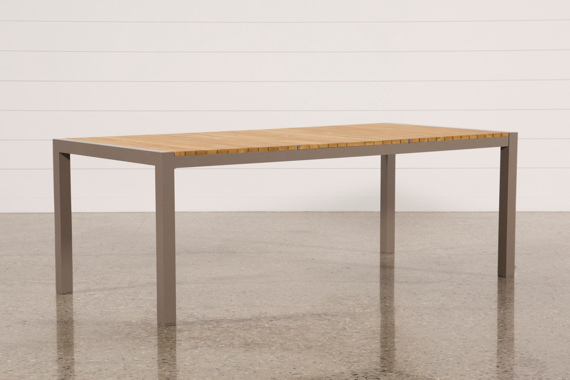 Outdoor brasilia teak dining table qty 1 has been successfully added to your cart