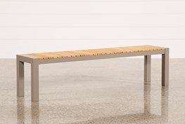 Outdoor Brasilia Teak Dining Bench