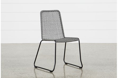 Pilo Grey Side Chair - Main