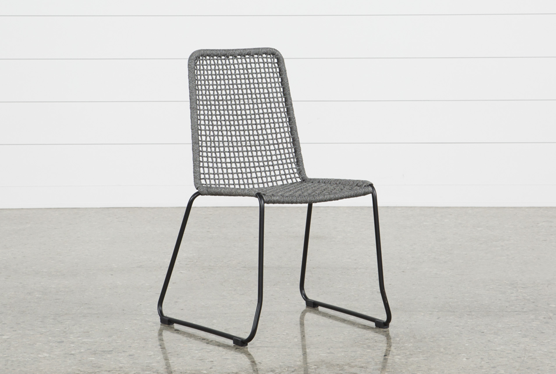 Pilo Grey Side Chair   360