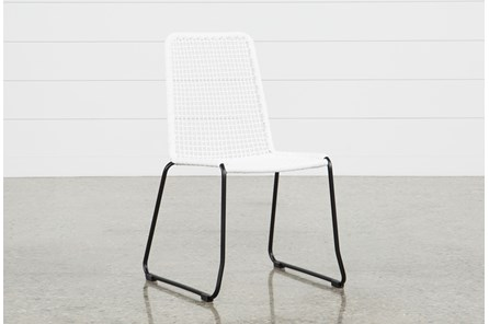 Pilo White Side Chair - Main