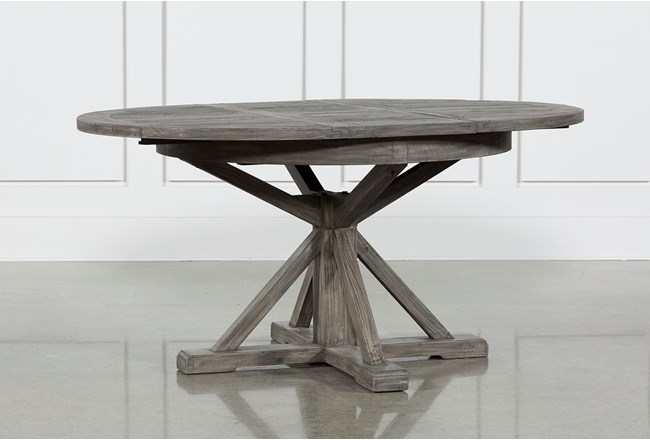 Combs Inch Extension Dining Table Living Spaces - 48 inch outdoor table