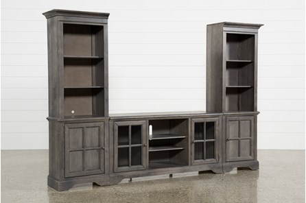 Preston 3 Piece Entertainment Center - Main