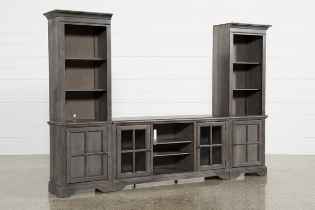 Preston 3 Piece Entertainment Center - 360