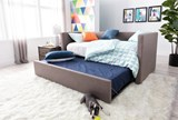 Emmerson Upholstered Twin Daybed With Trundle - Room