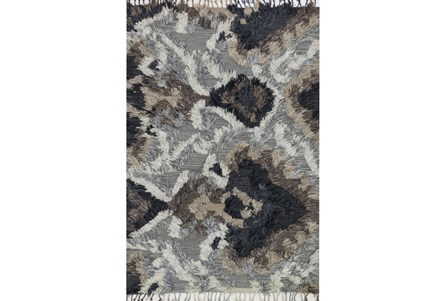 60X96 Rug-Justina Blakeney Fable Shag Granite