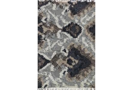 96X120 Rug-Justina Blakeney Fable Shag Granite