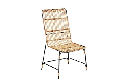 Magnolia Home Entwine Rattan Side Chair By Joanna Gaines