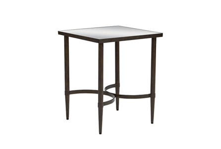 Magnolia Home Mercury Glass Side Table By Joanna Gaines
