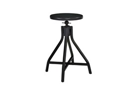 Magnolia Home Black Swivel Stool By Joanna Gaines