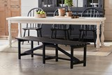 Magnolia Home Open Slat Bench By Joanna Gaines - Room