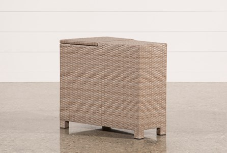 Outdoor Ibiza Storage End Table