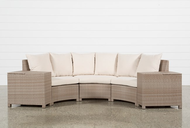 Outdoor Ibiza 5 Piece Sectional - 360