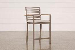 Outdoor Brasilia Teak High Dining Chair