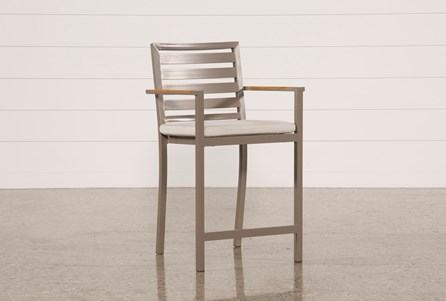 Outdoor Brasilia Teak High Dining Chair