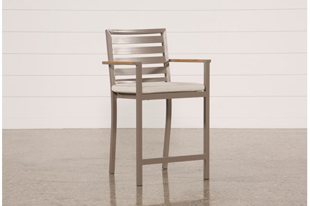 Outdoor Brasilia Teak High Dining Chair - Main