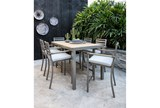 Outdoor Brasilia Teak High Dining Chair - Room