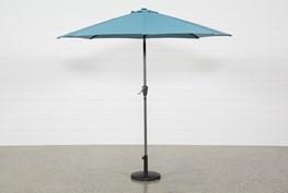 Outdoor Aqua Parasol Umbrella