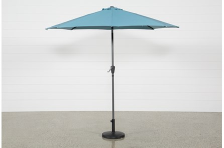 Outdoor Aqua Parasol Umbrella - Main