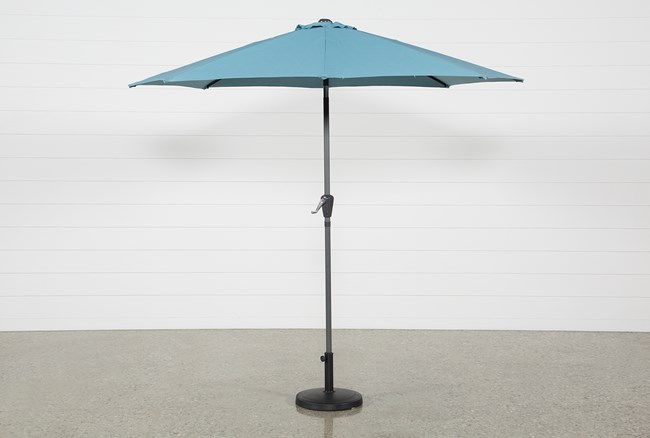Outdoor Aqua Parasol Umbrella