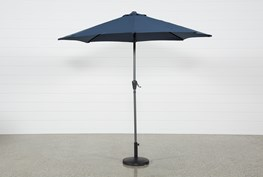 Outdoor Navy Parasol Umbrella