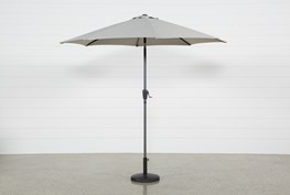 Outdoor Tan Parasol Umbrella