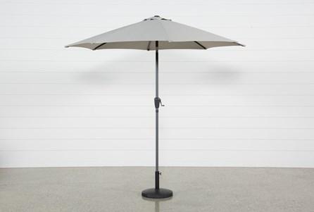 Outdoor Tan Parasol Umbrella